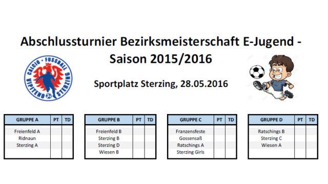 Torneo giovanile 2016